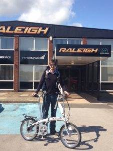 Leon Mccarran with DAHON Mu N360 at Raleigh