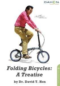 cover of Dr. Hon's folding bicycle treatise