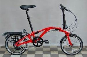 DAHON CURL i8 folding bike in Japan